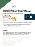 Aprende Alemán en 4 Meses Con Schritte International y Consigue El Goethe-Zertifikat B2 _ 10endibujo