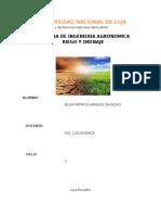 Características Del Suelo Que Afectan a La Retención de Agua
