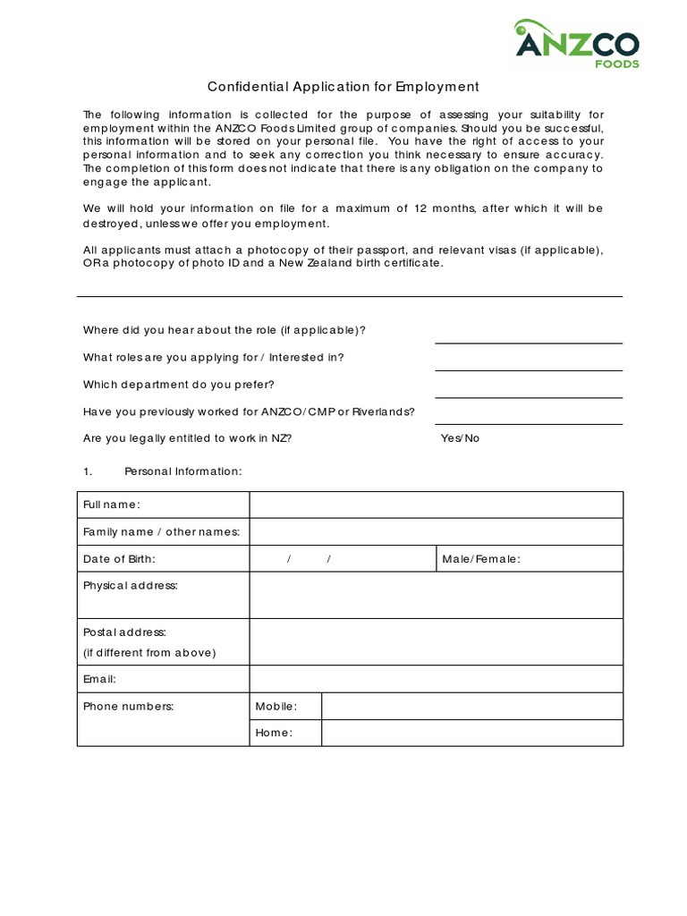 Anzco application form only society social institutions aiddatafo Images