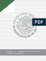 CAP04 Integración geotécnica y diseño preliminar