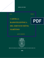 Tm-021 Cartilla Radiotelefonica