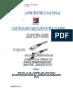 informe de diseño de cableado estructurado de un centro comercial