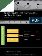Propiedades Estructurales de Los Grupos