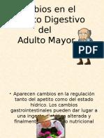 Sistema Dijestivo en El Adulto Mayor Doctor Gregorio Flores