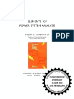 Elements of Power System Analysis 4th Ed. by William D. Stevenson, Jr..pdf