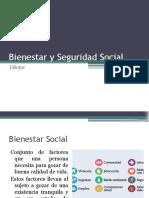 Bienestar y Seguridad Social