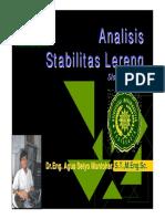 Unlock Analisis Stabilitas Lereng