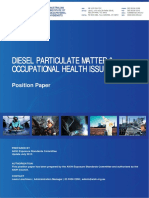Diesel Particulate Matter and Occupational Health Issues