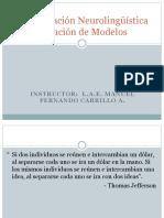 Creación de Modelos Con Programación Neurolingüística
