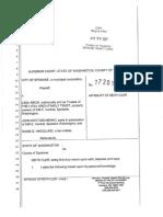04-20-17 Affidavit of Keith Cler