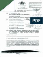 Informe de YPFB sobre el caso taladros