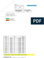 Perhitungan Profil TB Baja