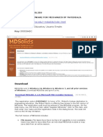 Software Mdsolids
