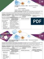 Guía de Actividades y Rúbrica de Evaluación - Fase 3 - Cuadro Comparativo