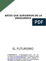 Artes de Vanguardia