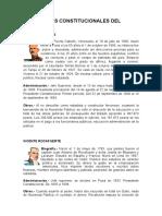 Preidentes del ecuador biografia y gobierno
