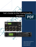 Yeks Guide to the Fractal Audio Amp Models