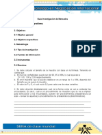 Informe Investigacion de Mercado