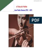 [Cliqueapostilas.com.Br] a Fisica Do Violino