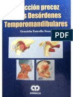 Detección Precoz de Los Desórdenes Temporomandibulares