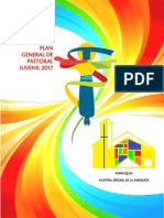 4. Plan General de Pastoral Juvenil 2017