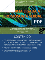 3 Herencia Ligado a Cromosoma Sexual y No Mendeliana