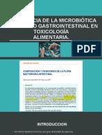 Importancia de La Microbiótica Del Tracto Gastrointestinal