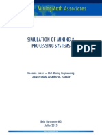 Simulation of Mining & Processing Systems