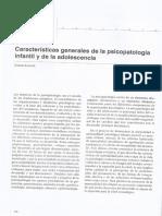 Almonte & Montt - Caracteristicas Generales de La Psicopatologia