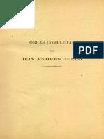 Andrés Bello - Obras Completas