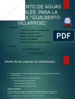 Tratamiento de Aguas Residuales de La Refineria Gualberto Villarroel