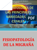 2 Fisiopatología de La Principales Variedades de Cefalea