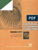 Estudios Biológicos en Las Áreas Naturales Del Estado de Hidalgo