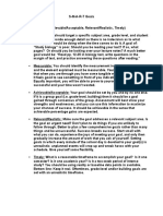 smart goals worksheet unit 7