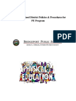 step 4 - policies   procedures for pe program  1