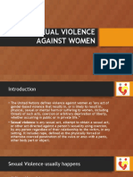 Sexual Violence Against Women