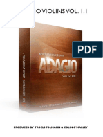 8dio Adagio Violins 1 1 Read Me