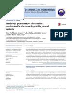 Semiología Pulmonar Por Ultrasonido