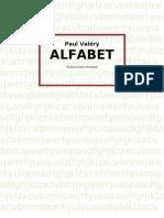 Paul Valéry Alfabet