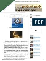 Shalom Jerusalen_ Un Secreto Antiguo de Las 70 Semanas de Daniel Predice Que El Fin de Los Días Podría Iniciar Este Año