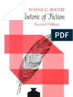 The Rhetoric of Fiction by Wayne C. Booth