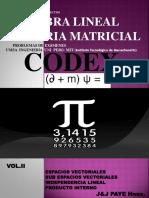 Codex Algebra Lineal Tomo II