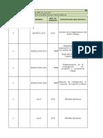 Evidencia 4 Matriz Legal