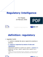 Regulatory Intelligence - Slides From SPIN 23.02.10