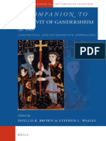 A Companion to Hrotsvit of Gandersheim (fl. 960)