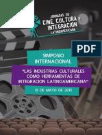 Libro Simposio Industrias Culturales Cine