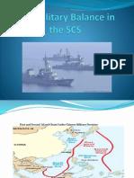 The Military Balance in the S. China Sea (Custodio)