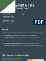 CSR Presentation Sec a GRP 2
