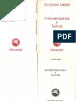 Intervenciones y textos-Jacques Lacan (1).pdf