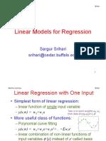 Regression BasisFns